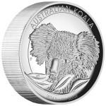 Koala High Relief, Australia, 2014, 5oz