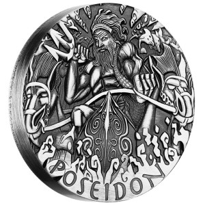 Gods of Olympus: Poseidon, Australia, 2014, 2oz