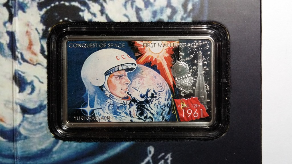 [Special Offer] Conquest of Space: First Man in Space, Niue, 2011, 1oz