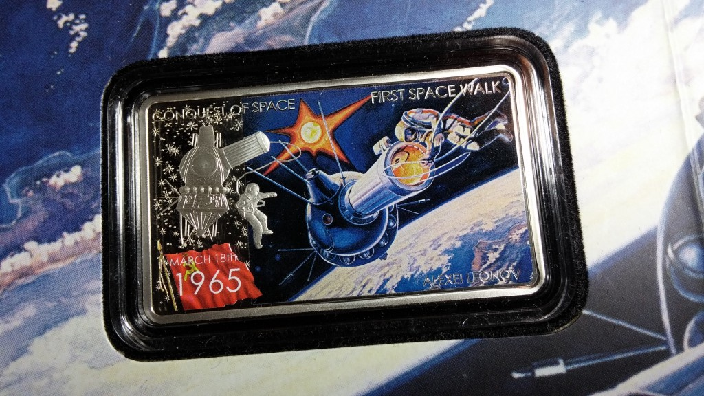 [Special Offer] Conquest of Space: First Space Walk, Niue, 2011, 1oz