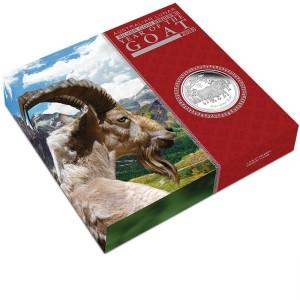 Year of the Goat Proof Three-Coin Set, Australia, 2015, 0.5oz & 1oz & 2oz