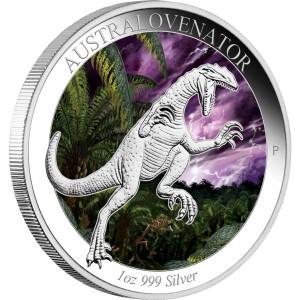 Australian Age of Dinosaurs: Australovenator, Australia, 2014, 1oz