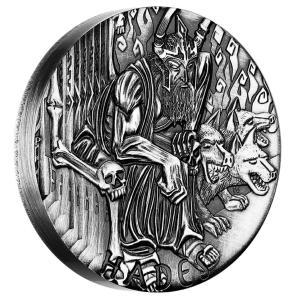 Gods of Olympus: Hades, Australia, 2014, 2oz