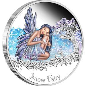 Snow Fairy, Tuvalu, 2015, 0.5oz