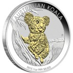 Koala Gilded, Australia, 2015, 1oz