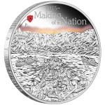 The ANZAC Spirit 100th Anniversary Coin Series: Making of a Nation, Australia, 2015, 1oz