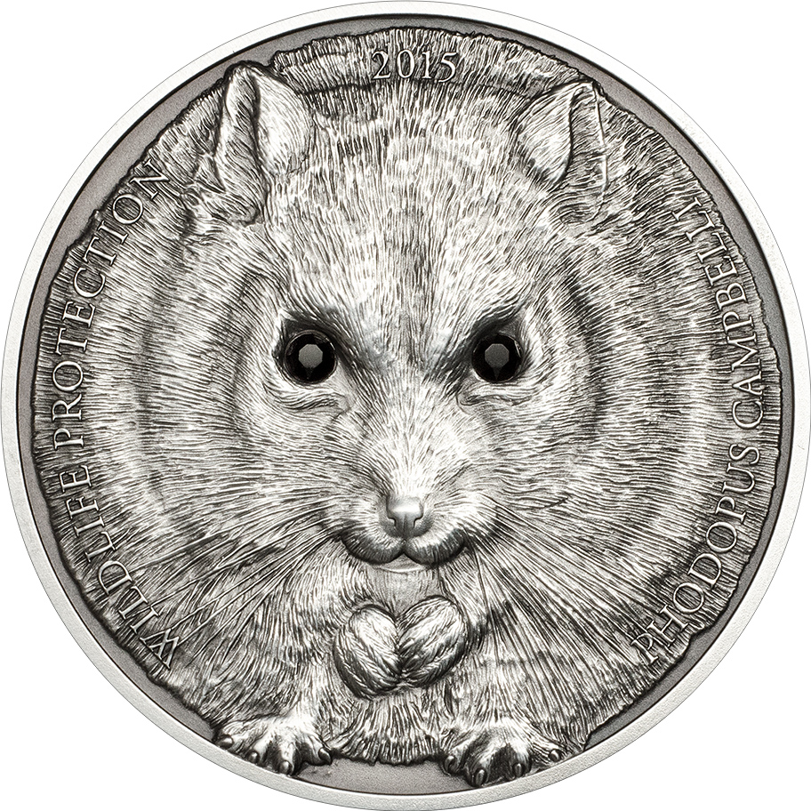 Cambell S Hamster Mongolia 2015 1oz Silvercoinstory