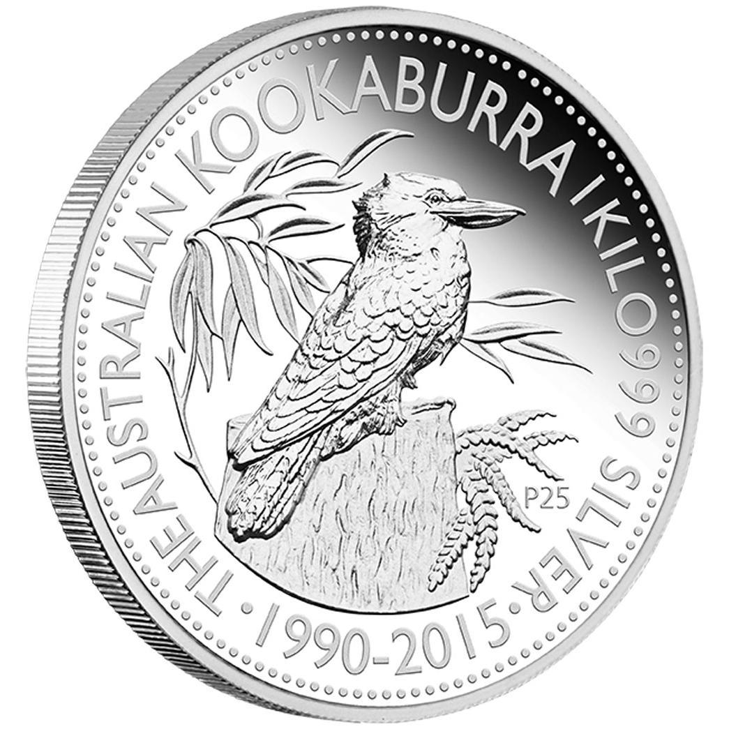 25th Anniversary Australian Kookaburra Australia 2015