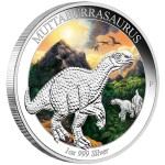 0-01-2014-AustralianDinosaurs--Muttaburrasaurus-Silver-1oz-Proof-OnEdge
