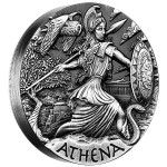 0-01-2015-GoddessesOfOlympus-Athena-Silver-2oz-HighRelief-Rimless-OnEdge