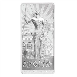Gods of Ancient Greece: Apollo, Niue, 2015, 2oz