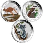 Australian Outback Coin Collection, Australia, 2015, 1/2oz x 3, .999