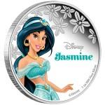Disney Princess: Jasmine, Niue, 2015, 1oz, .999