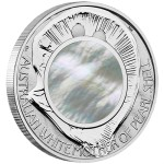 White Mother of Pearl Shell, Australia, 2015, 1oz, .999