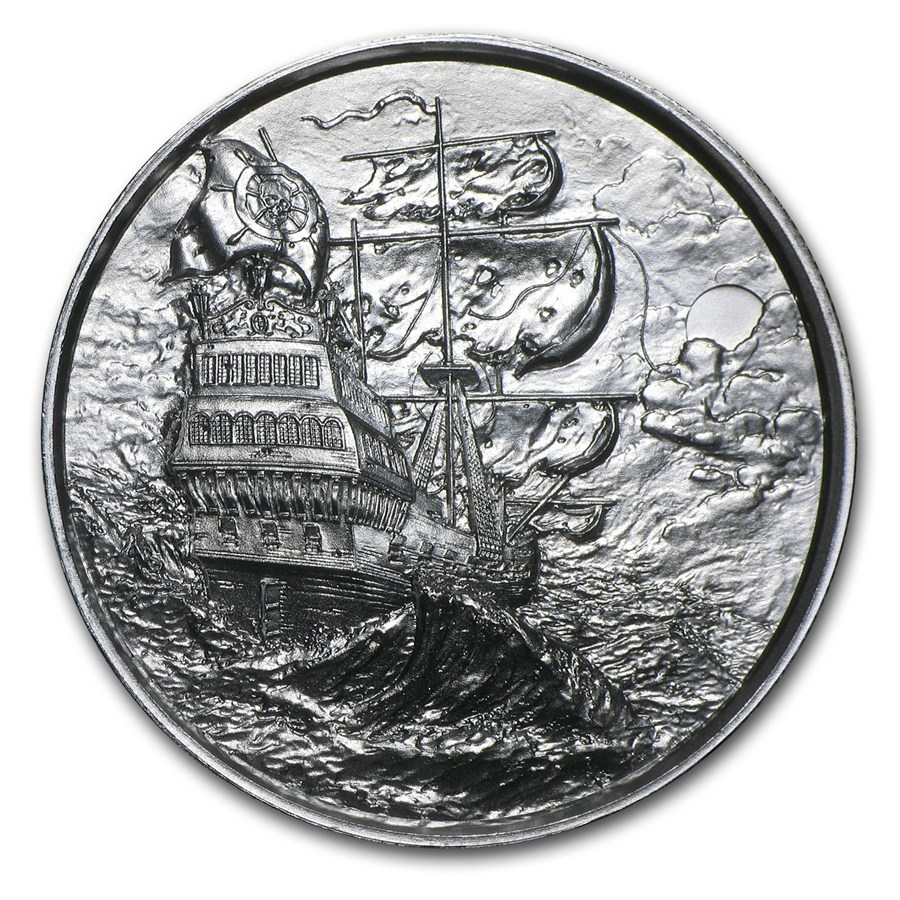 Elemetal Privateer Ultra High Relief 2oz 999