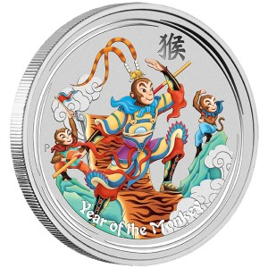 0-MonkeyKing-Silver-1oz-Coloured-OnEdge