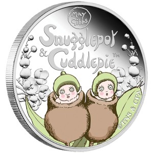 2016 Snugglepot & Cuddlepie™ 1/2oz Silver Proof Coin