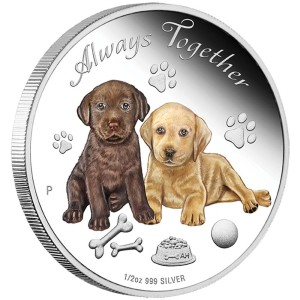 2016 Always Together 1/2oz Silver Proof Coin