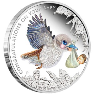 2016 Newborn Baby 1/2oz Silver Proof Coin