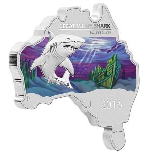 0-AustralianMapShaped-GreatWhiteShark-Silver-1oz-Reverse