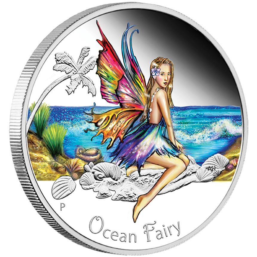 Ocean Fairy Tuvalu 2016 1 2oz 999 Silvercoinstory