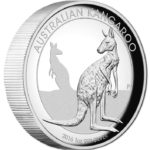 2016 $1 Kangaroo High Relief 1oz Silver Proof